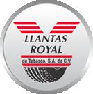 Llantas Royal de Tabasco.